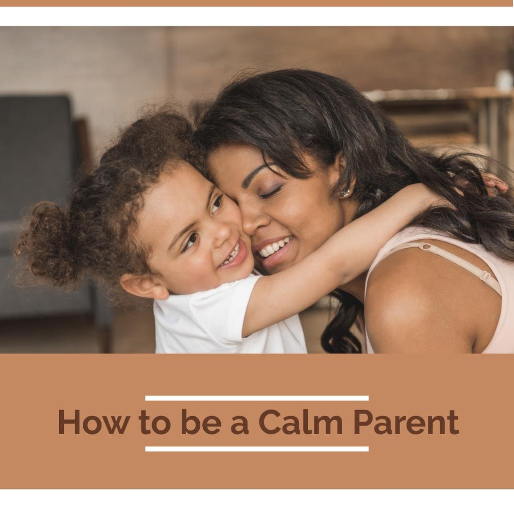 Parenthood Guide Mother Hugging Daughter — Створити дизайн