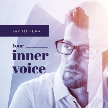 Try to hear your inner voice