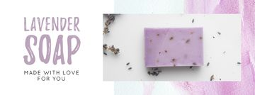 Handmade Soap Bar with Lavender