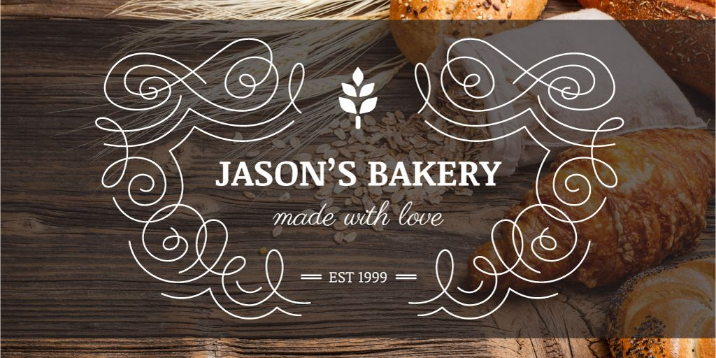 Jason's bakery advertisement — Modelo de projeto