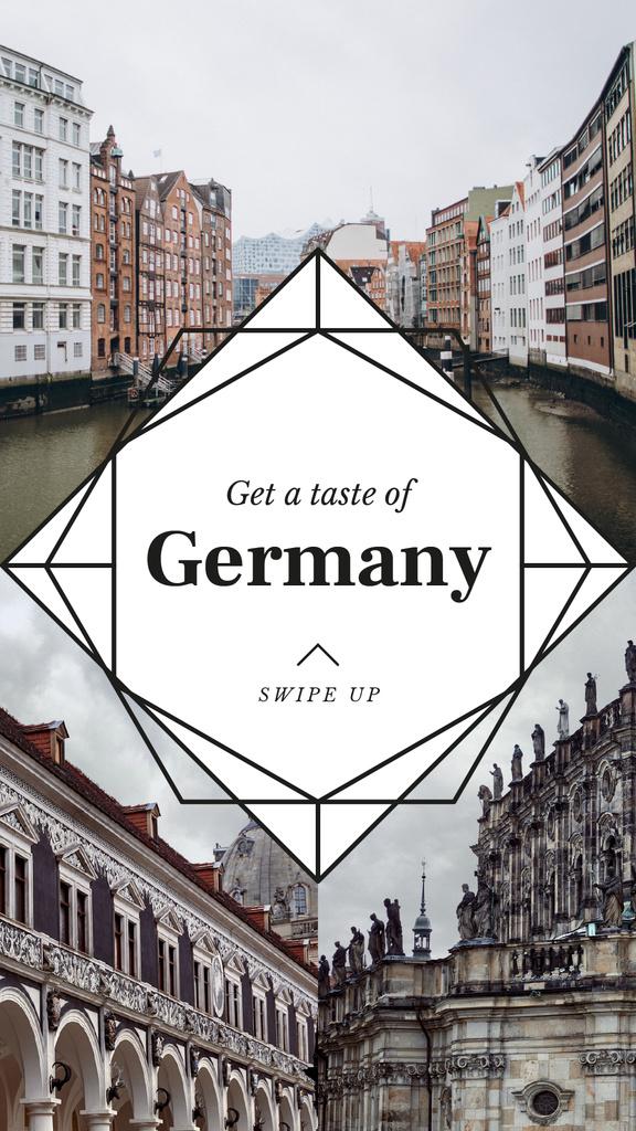 Special Tour Offer to Germany Instagram Story Modelo de Design