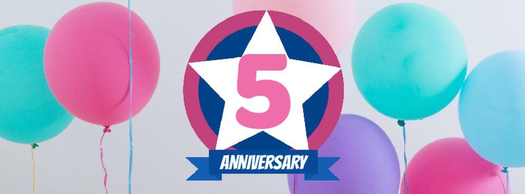 Anniversary celebration template — ein Design erstellen