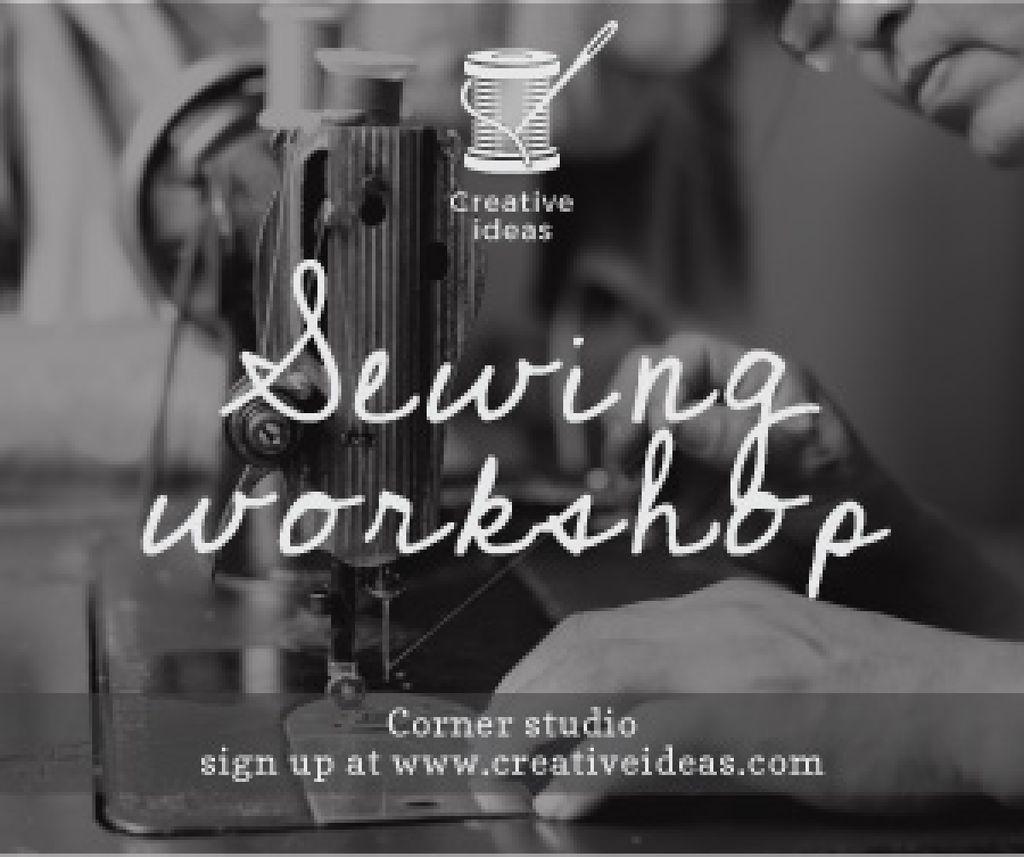 Sewing workshop advertisement — Створити дизайн