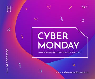 cyber monday poster
