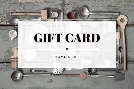 Store of homestuff Offer Gift Certificate – шаблон для дизайна