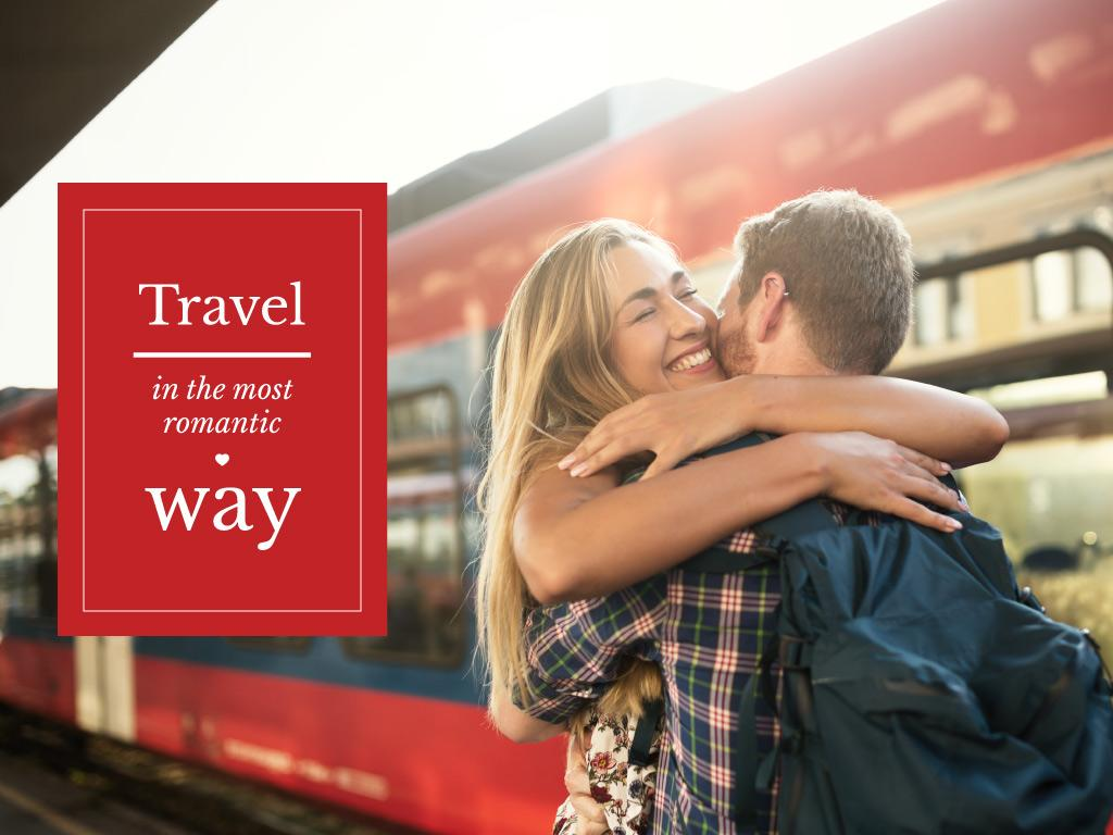 travel is the most romantic way banner — Create a Design