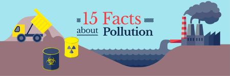 Facts about Pollution Email header Tasarım Şablonu