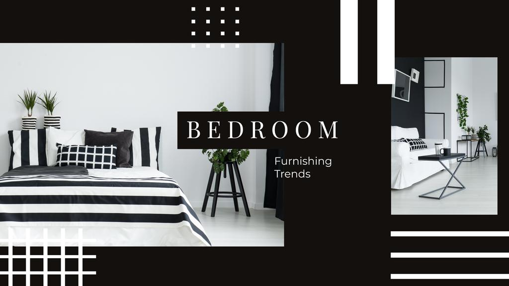 Cozy bedroom interior — Crear un diseño