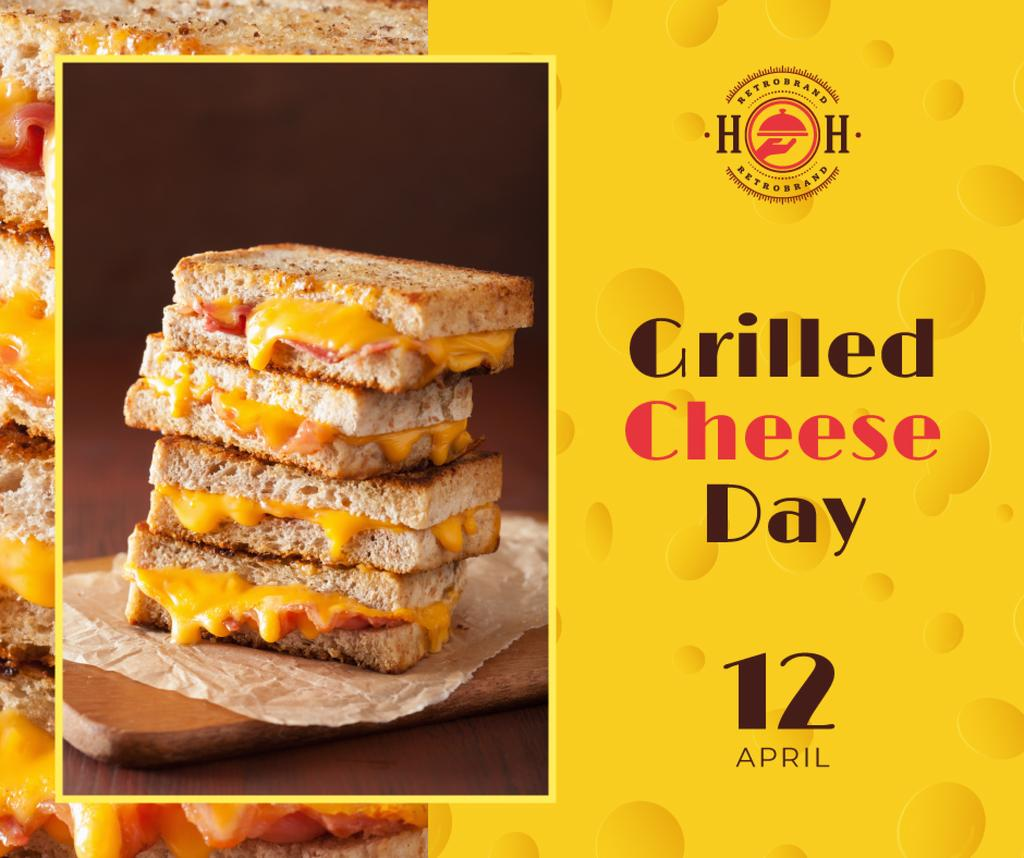 Grilled cheese day celebration — Crear un diseño