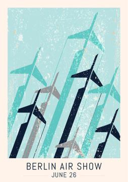 Berlin air show poster