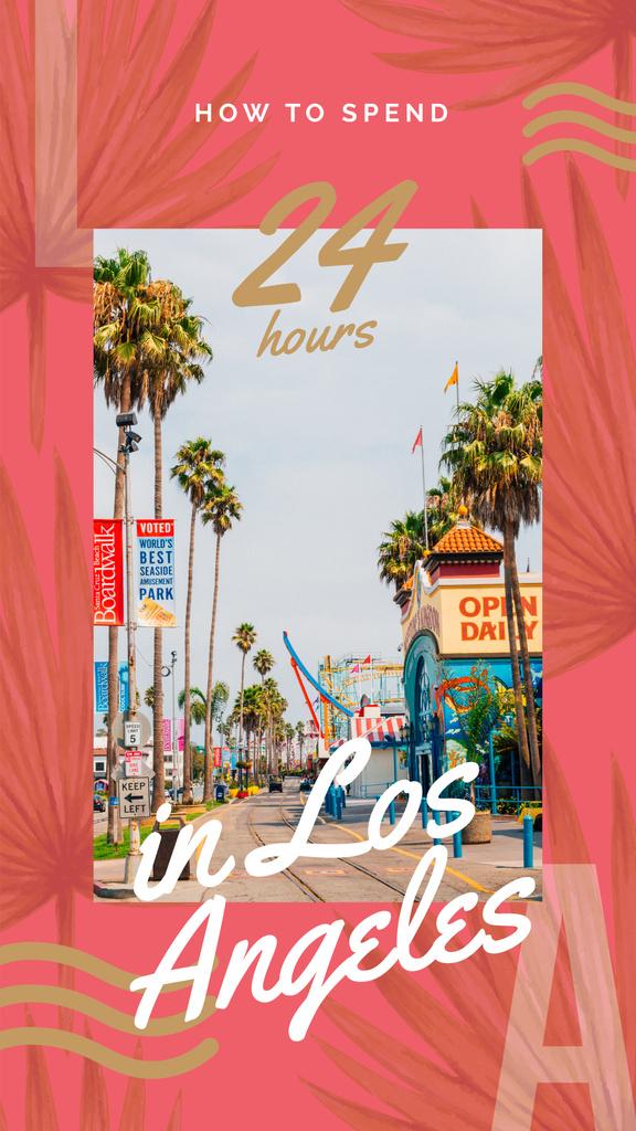 Los Angeles city street — Modelo de projeto