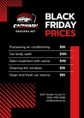 Black Friday Offer on Car Salon Cleaning