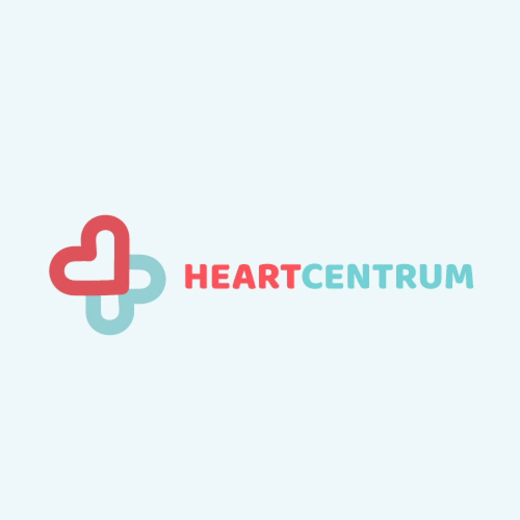 Charity Medical Center with Hearts in Cross — Створити дизайн