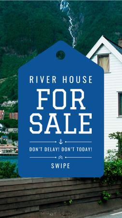 Plantilla de diseño de Real Estate sale offer Instagram Story