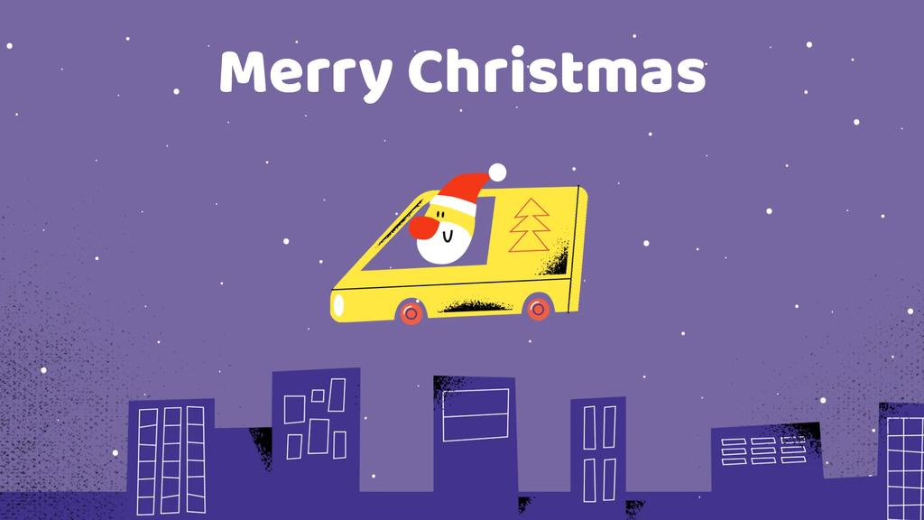 Santa delivering gifts  — Create a Design