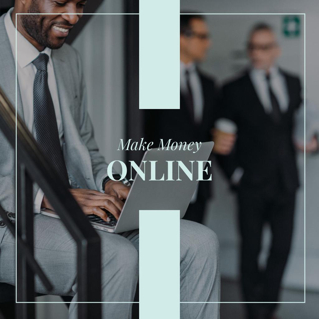 Make money online — Maak een ontwerp