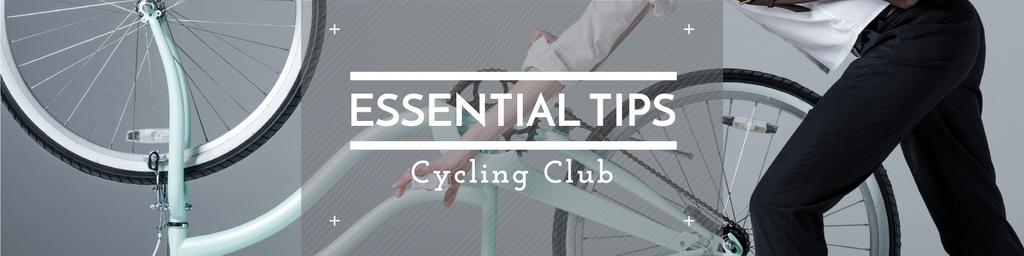 Cycling club tips — Créer un visuel