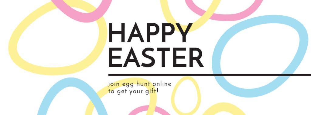 Egg Hunt Offer with rotating Easter Eggs — Modelo de projeto