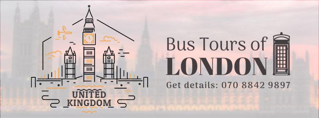 London famous travelling spots — Создать дизайн