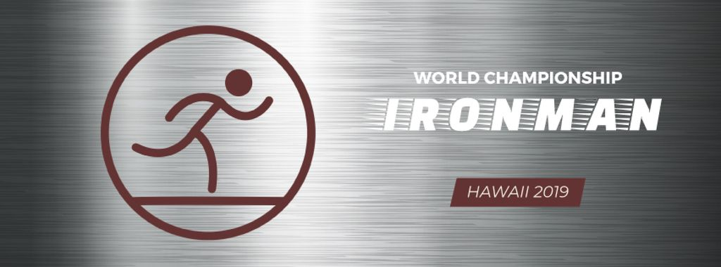 Triathlon sporting tournament icon — Створити дизайн