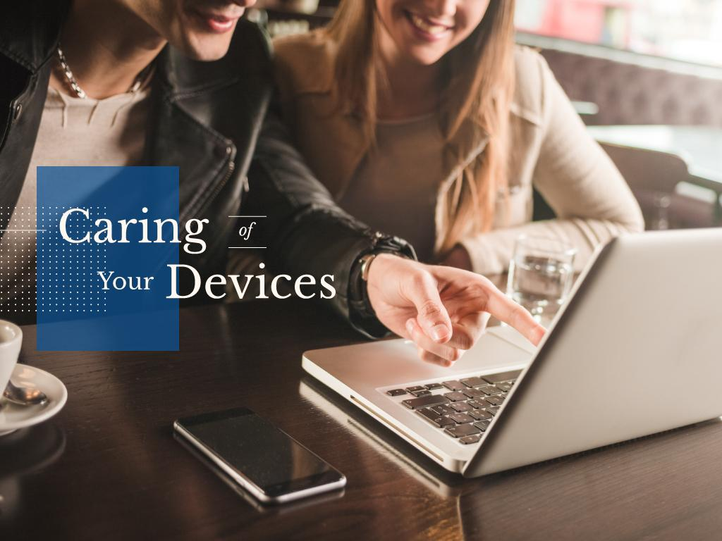 Caring of your devices — Crear un diseño