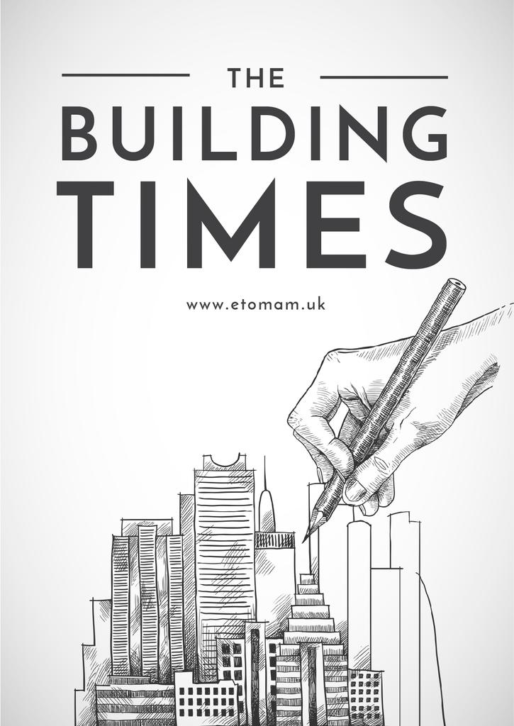 building times illustration — Create a Design