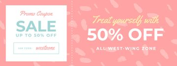 Discount Offer on Pink Pattern