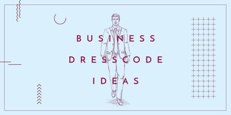 Modèle de visuel Business dresscode ideas - Image