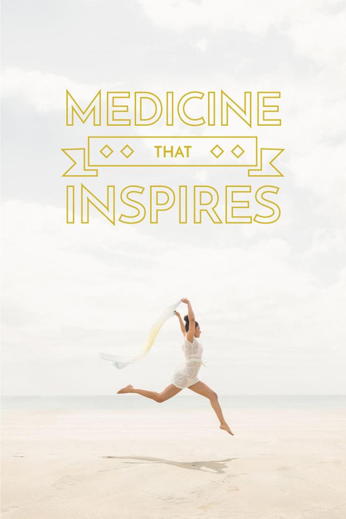medicine that inspires poster — Create a Design