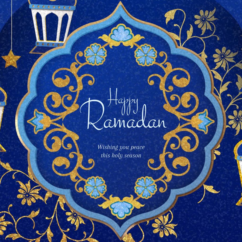 Ramadan Kareem greeting — Створити дизайн