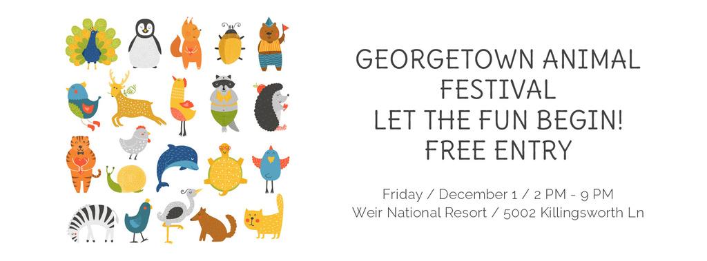 Georgetown Animal Festival — Создать дизайн