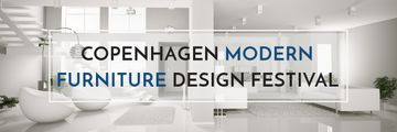 Furniture Design Festival Modern White Room | Email Header Template
