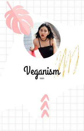 Plantilla de diseño de Blogger Webinar on vegan diet IGTV Cover