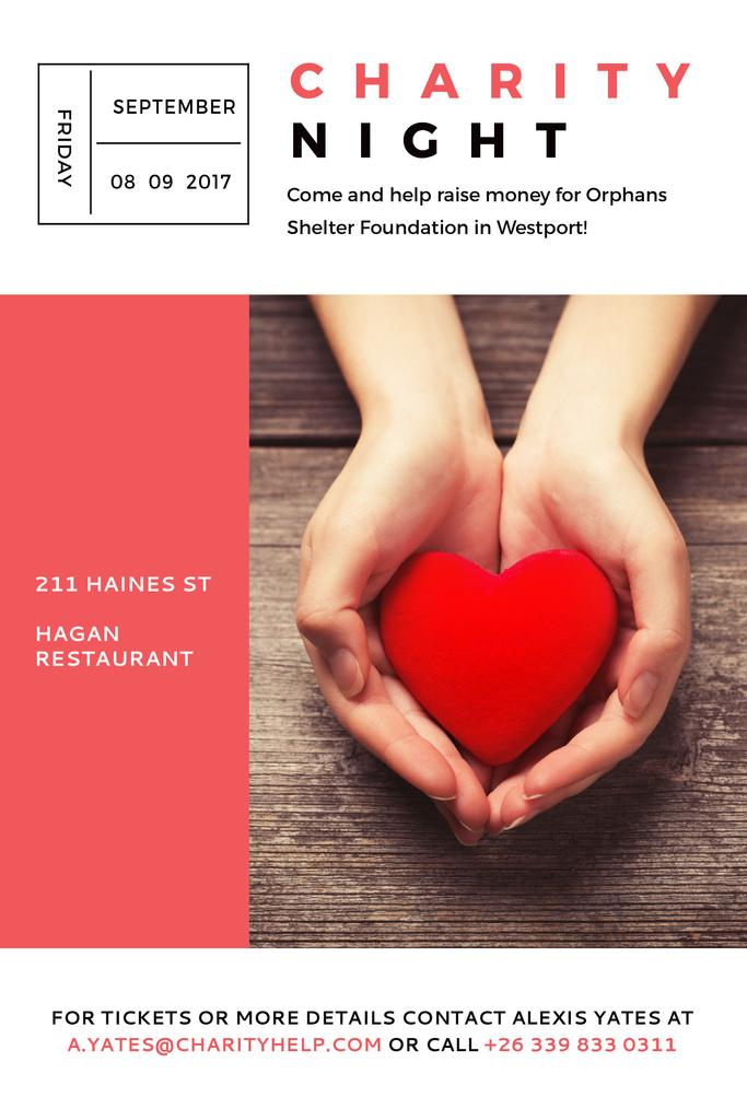 Corporate Charity Night — Crear un diseño