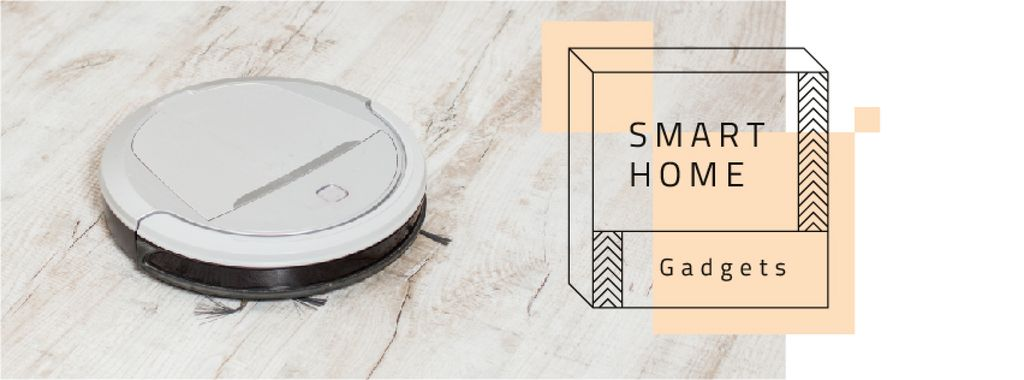 Robot vacuum cleaner for Smart Home — Create a Design