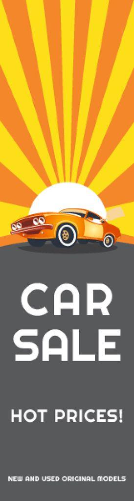 Car sale advertisement — Crear un diseño