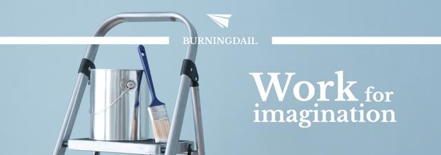 Tools for Home Renovation in Blue Tumblr – шаблон для дизайна