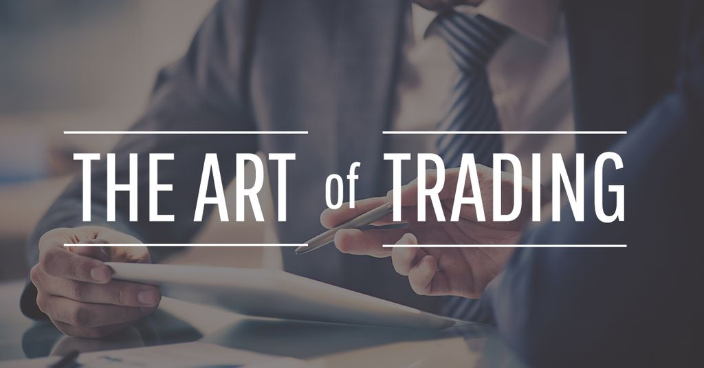 the art of trading poster — Crear un diseño