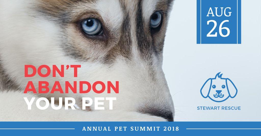 Annual pet summer poster  — Crea un design