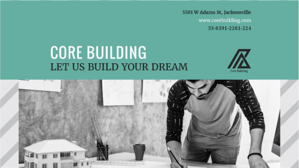 Core building agency advertisement — Create a Design