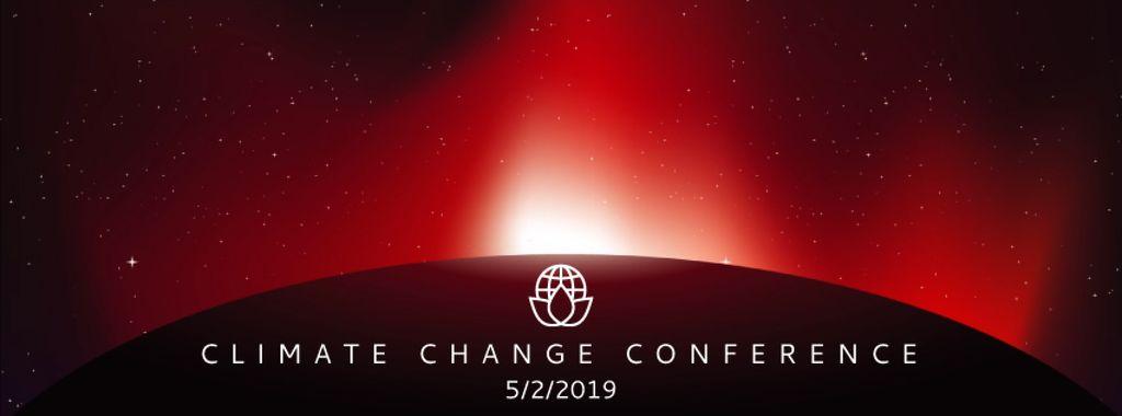 Sun rising over red planet — Crear un diseño