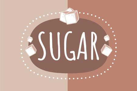 Sugar brand promotion Label Modelo de Design