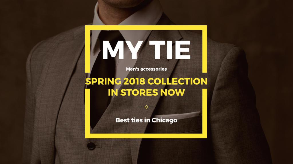 My tie store in Chicago — Modelo de projeto