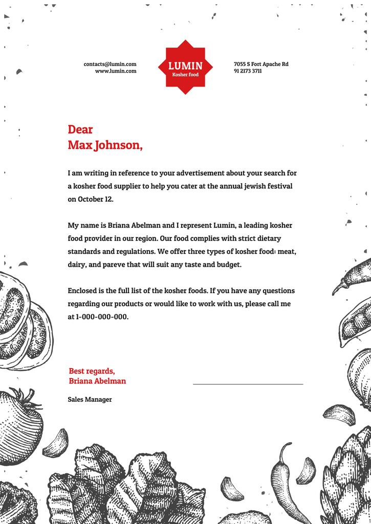 Food supply Company official offer — Maak een ontwerp