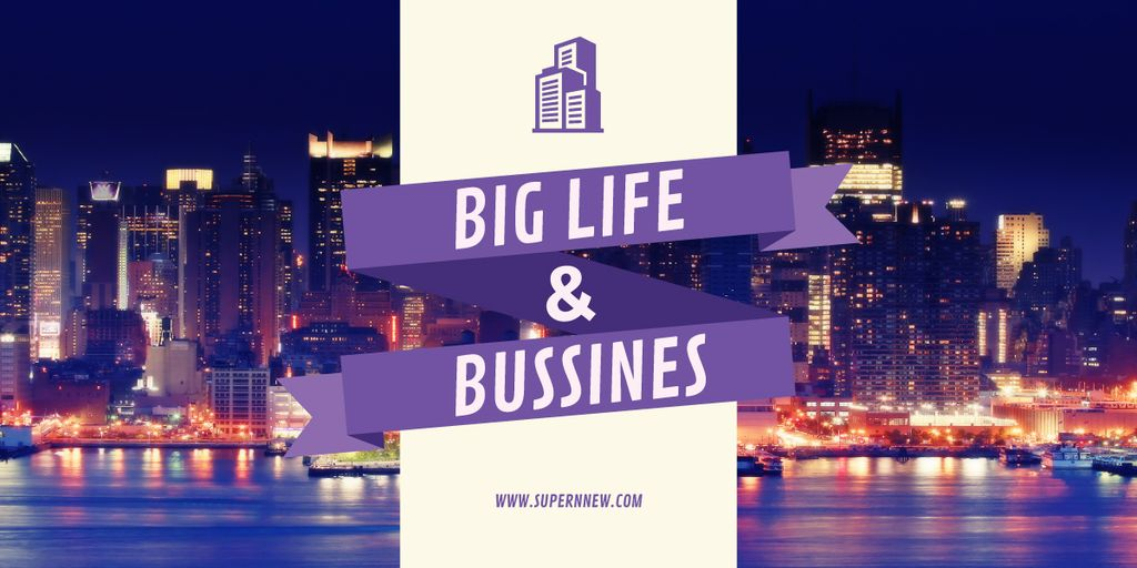 Life and business banner — ein Design erstellen
