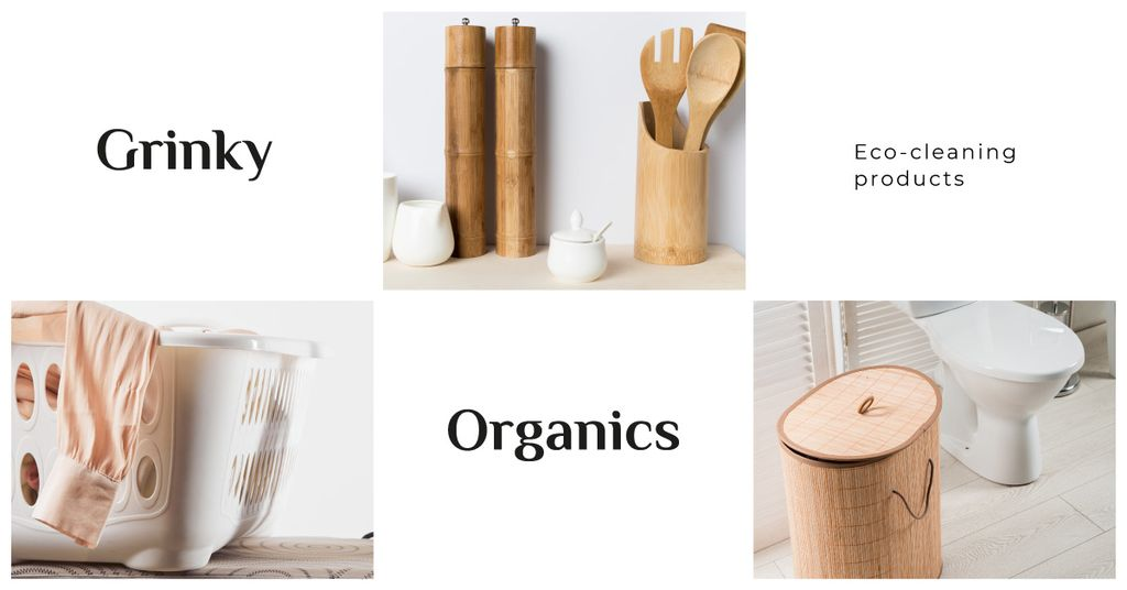 Eco-cleaning Products Offer — Crea un design