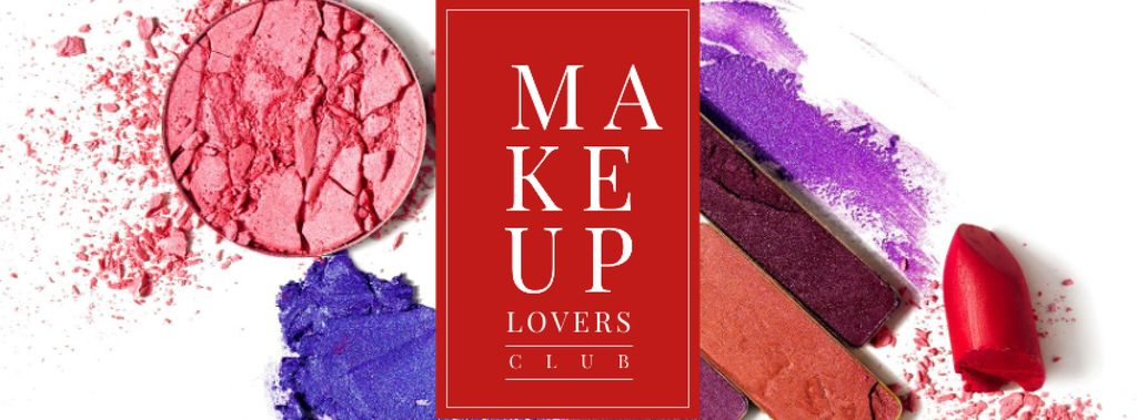 Makeup cosmetics set Offer — Créer un visuel