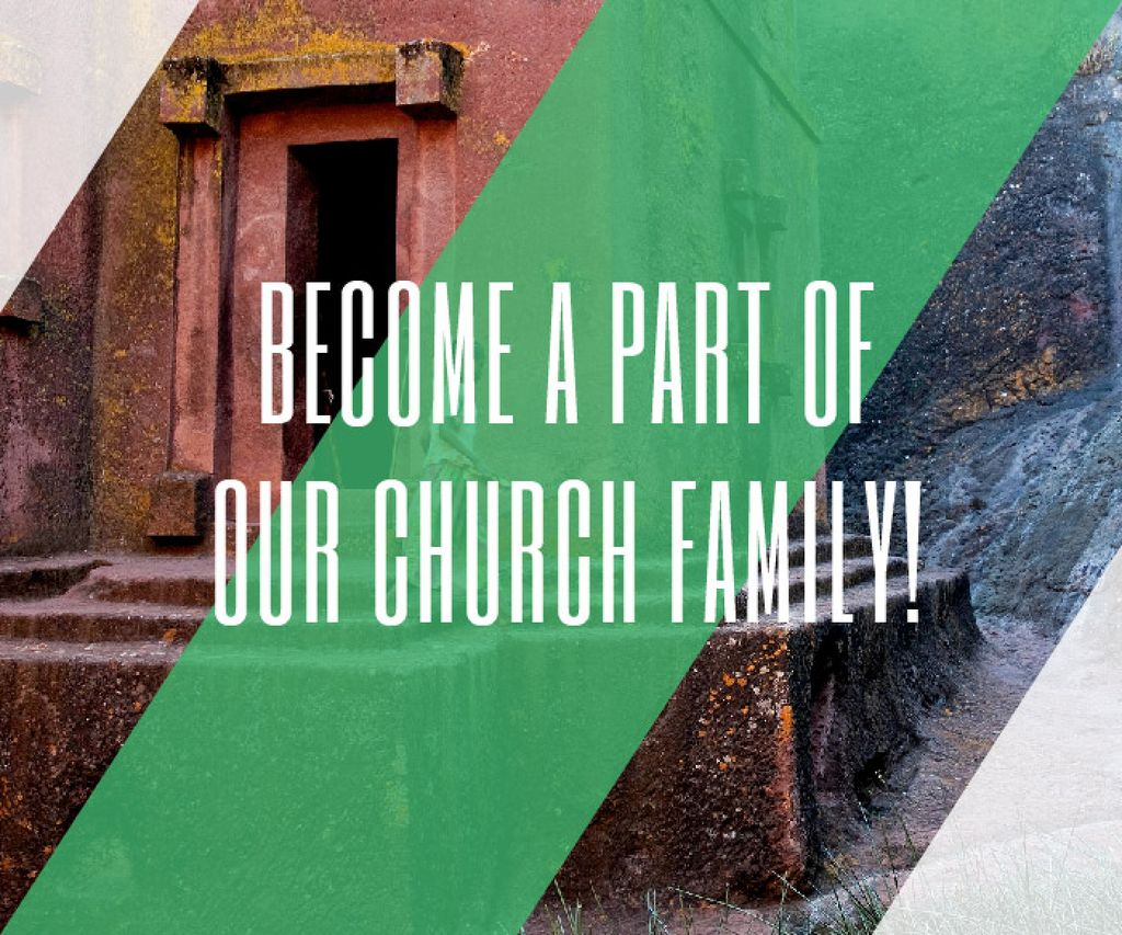 Become a part of our church family — Create a Design
