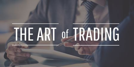 Plantilla de diseño de Art of trading with Businessmen Image