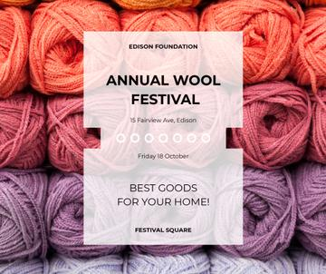 Knitting Festival Wool Yarn Skeins